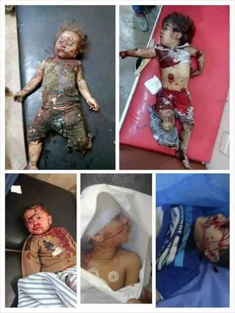 kinder Syrien
