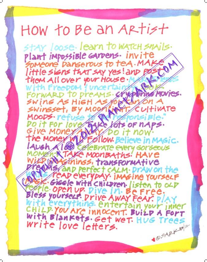 Jeder Mensch ist ein Künstler
